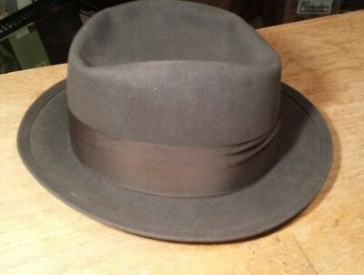 vintage Royal Stetson fedora 7 1/8 clean but shabby look