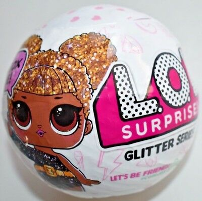LOL Surprise Glitter Series Big Sister Authentic 7 surprises. MGA Original.
