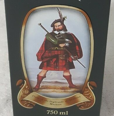 GLENFIDDICH SCOTCH WHISKY TIN- CLANS OF THE SCOTTISH HIGHLANDS Maclean