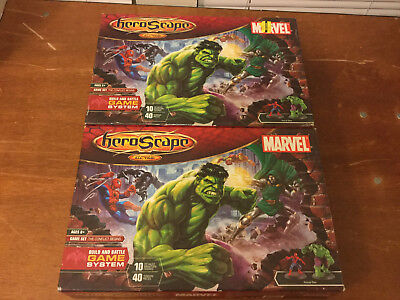 Marvel Heroscape X2 (1 used/1 new) Thanos, Spider-man, Hulk, Wolverine