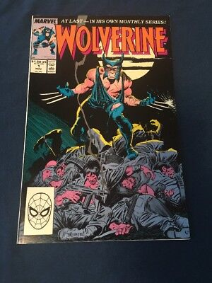 Wolverine #1 (Nov 1988, Marvel) NM