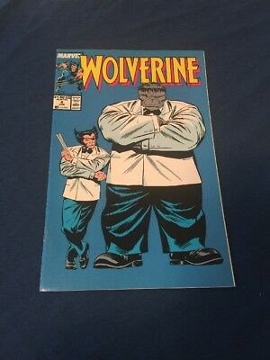 Wolverine #8 (Jun 1989, Marvel) Iconic Cover VF/NM