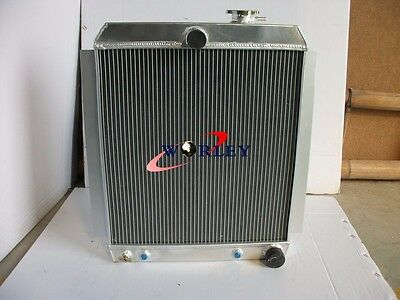 3Row 56mm New Aluminum Radiator Chevy Truck Pick UP AT 1948-1954 49 50 51 52 53