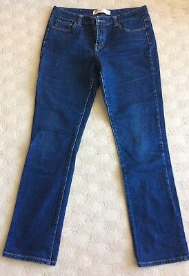 Ladies Just Jeans Mid Rise, Straight Leg Jeans Size 14 Long