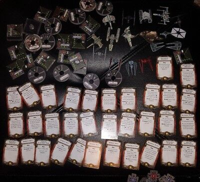 Biggest Star Wars X-Wing Miniatures Game Lot 2 Core Sets - Millennium Falcon