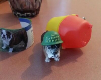 Eric the bulldog with Paper Yowie Series 2 RARE!!!