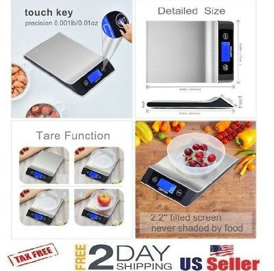 Food Scale Geryon Kitchen Cooking Scale, Multifunction Electric, Food Weighing