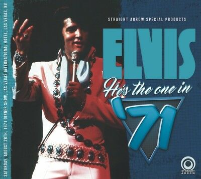 """Rare Elvis Presley - CD """"He's The One In '71"""""""