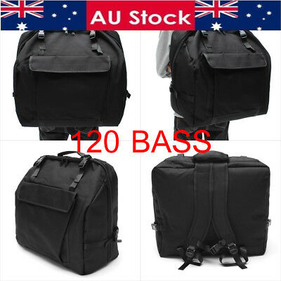 1200D Padded Accordion Gig Bag Case Backpack for 120 Bass Piano Accordions AU