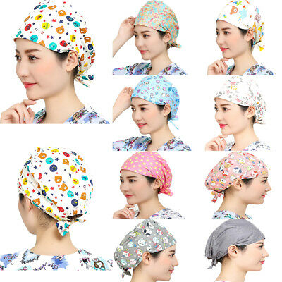 Classic Doctor/Nurse Surgical Scrub Caps Medical Hospital Lab Clinic Dental Hats