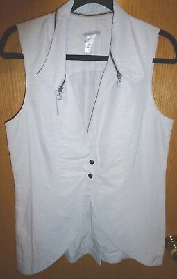 NEW Sarah Pacini Vest Size 2 (Made in Italy)
