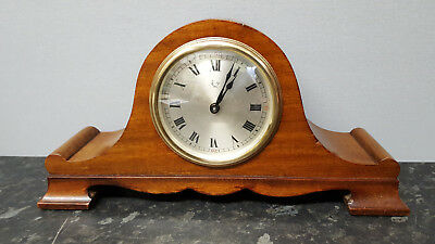 Vintage Solid Wooden Mantle Clock