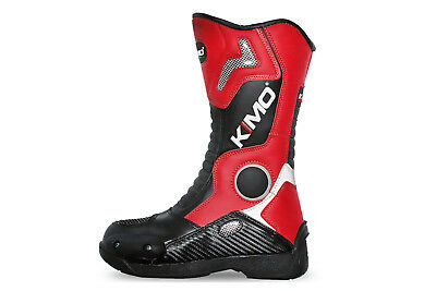 KIMO Cross Stiefel rot Kinder Motocross Kinderstiefel Crossstiefel MX