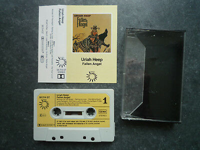 MC Uriah Heep Fallen Angel Bronze 58 214 GT Made in Germany music cassette tape
