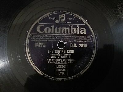 Guy Mitchell - The Roving Kind / You're Not In My Arms Tonight Columbia DB2816
