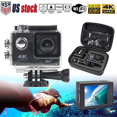 SJ9000 Ultra 4K 1080P Waterproof Wifi Sport Action Camera DVR DV Camcorder