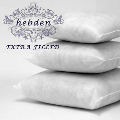 "4 X Hollowfibre Cushion Pads Insert Fillers,Inners 12"" 14"" 16"" 18"" 20"" 22"" & 36"""