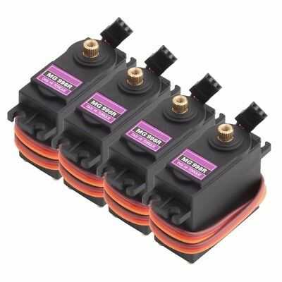 4Pcs MG996R Digital Metal Gear Servo High Torque For Airplane RC Car 4.8 - 7.2 V