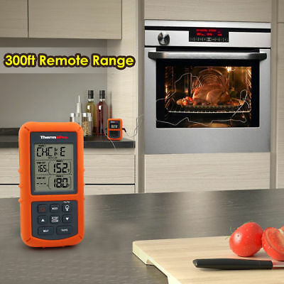 ThermoPro TP20 Wireless Remote Digital Cooking Food Meat Thermometer-US Shipping