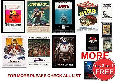 Classic Film, Movie Poster Prints in sizes A0-A1-A2-A3-A4-A5-A6-MAXI - CLS 3