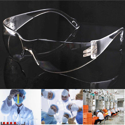 Chic Vented Safety Goggles Glasses Eye Protection Protective Lab Anti Fog Clear