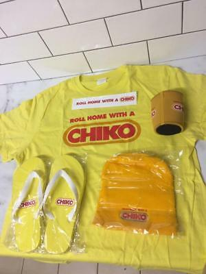 Promotional Chiko Roll Pack - Rare As T Shirt - Thongs - Beanie - Stubby H New
