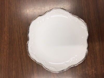 Anna Weatherley China Simply Anna Platinum Bread and Butter Plate