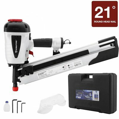 21-DEGREE FULL HEAD Framing Nailer 3-1/2\