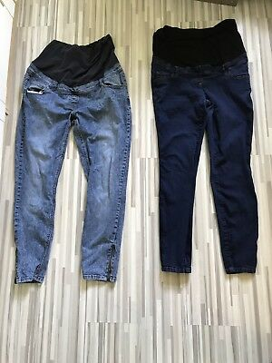 Next Maternity Jeans Bundle 16 tall