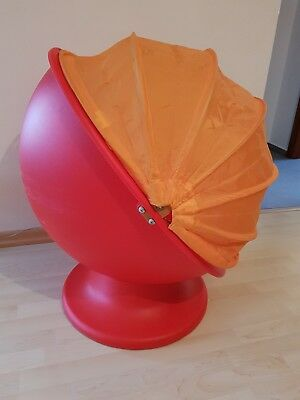 IKEA PS LÖMSK ~♥~ Drehsessel ~♥~ rot-orange ~♥~ Sessel  ~♥~ Kinderzimmer  ~♥~