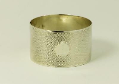 Sterling Silver NAPKIN RING Chester 1906