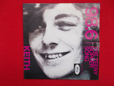 "Keith - 98,6 / Teeny Bopper Song ( RARE 7"" Single Holland,1966, Z= sehr gut )"