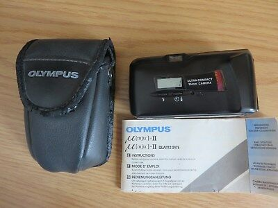 OLYMPUS  Mju II  ALL WEATHER MULTI AF CAMERA - 35mm 1: 2.8 LARGE APERTURE LENS
