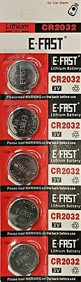 5 x CR2032 BR2032 DL2032 Branded 3V LITHIUM Coin Cell Button Batteries