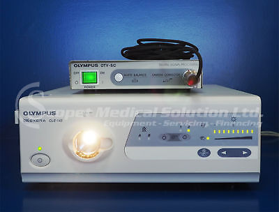 Olympus OTV-SC Digital Signal Processing & CLE-145 light source & camera head MA