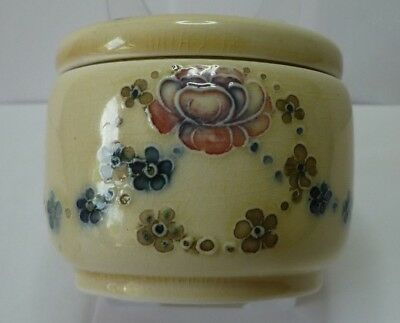 William Moorcroft For Liberty & Co Miniature Jar And Cover