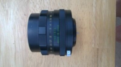 Helios-44m 2/58 made in USSR lens
