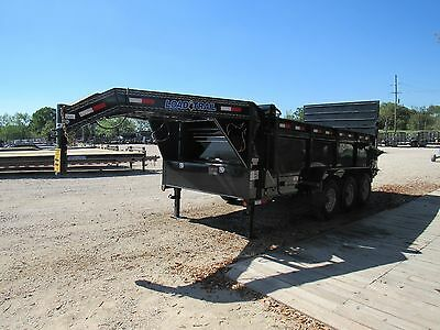 "16""x 83-- Gooseneck Dump Trailer--Brand New--Load Trail --Hydralic Gate--$11,299"