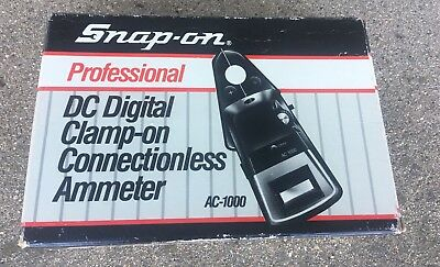 Snap-On Professional DC Digital Clamp-On Ammeter AC-1000