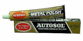 Solvol Autosol Chrome Aluminium & Metal Paste Polish Car Motorcycle FREE POST!