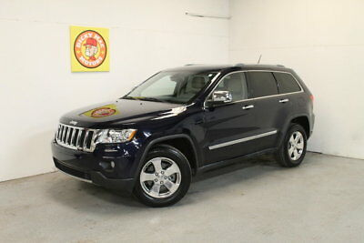 Grand Cherokee -- 2012 Jeep Grand Cherokee  42801 mi., leather, nav, SR   Blue Metallic  3.6L Auto