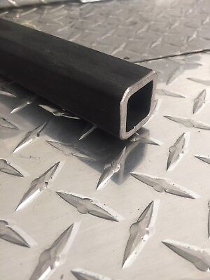 """1-1/4"""" x 1-1/4"""" x 3/16"""" Hot Rolled Steel Square Tubing x 24"""" Long"""