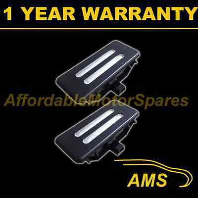2X For Bmw X1 E84 X3 F25 X5 E70 X6 E71 18 White Led Black Mirror Sun Visor Lamps