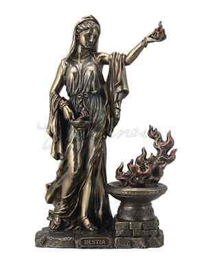 Hestia Greek Goddess of the Hearth and Domesticity Statue Sculpture Figurine