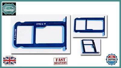 Huawei Honor 8Micro SD / SIM Card Tray Holder BLUE