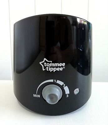 Tommee Tippee Closer to Nature Electronic Baby Bottle Warmer Black - New, Boxed