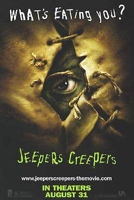 Jeepers Creepers  Movie Poster Orig Single Sided 27x40