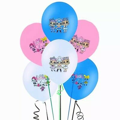 New Lol Surprise Doll 12'' Latex Party Balloon  Decoration 6pcs - 24pcs
