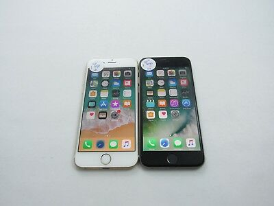 Cracked Lot of 2 Apple iPhone 6 A1586 16GB Sprint Check IMEI 4CR-1272
