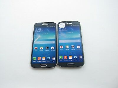 Lot of 2 Samsung Galaxy S4 SM-S975L Unknown Check IMEI GoodCondition 4-589